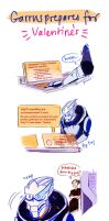 Garrus' All-Purpose Excuse [Valentine's Special] by reubelyn