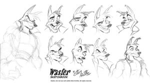 Wasfer Sketchbook by eltonpot