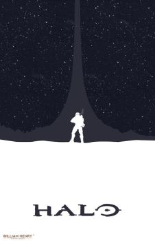 Halo poster by billpyle