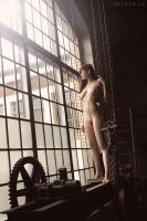 My Home Is An Old Factory by artofdan70