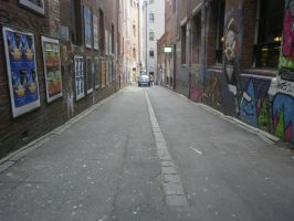 melbourne alley 7 by LuchareStock
