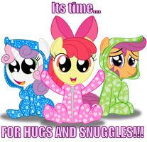 Hugs and Snuggles by SpellboundCanvas