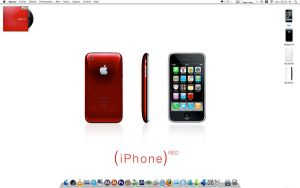 iPhone 3G Red Product by oohTony