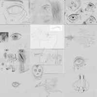 drawings 2015 by hollowkingking