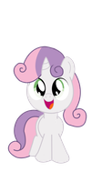 SweetieBelle by Huskkies