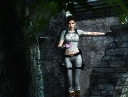 Lara Croft by Halli-well