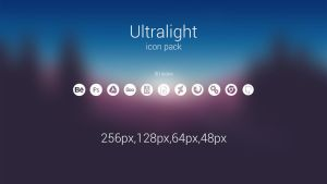 Ultralight icons by razrxgt