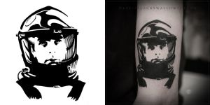 Space Odyssey tattoo by DynamoClock