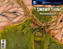 Swamp Thing Sketch Cover #5 by mavspace