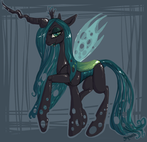 Queen Chrysalis (2012) by artofmelissafox