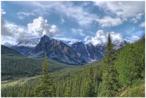Valley of the ten peaks by od1e