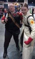 AZ 2012 - Heavy and Medic by Belle43