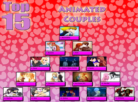 Valentine's day top 15 couples 2016 chart by snitchpogi12