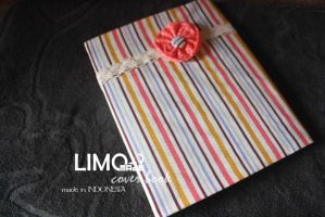 Cute Flower - Handmade Cover Book / Binder by LIMOmade