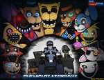 Five Nights At Freddys 2 Feat Gold-Paladin by Miltonator