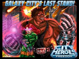 Galaxy City's Last Stand by imagesbyalex