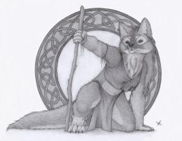Druid Sketch by 5hape5hifter