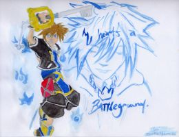 KH: Battle Dance. by meaikoh