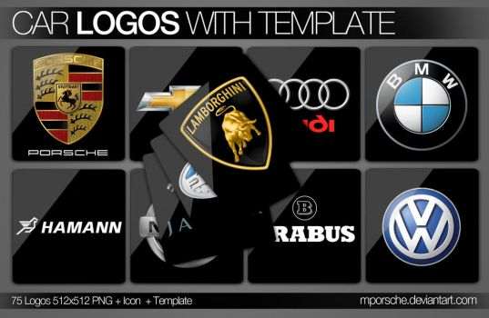 Car Logos with Tamplate by mporsche