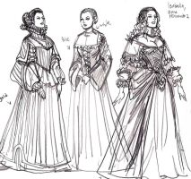 CS More Noble Ladies by johnnyharadrim