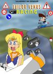 Sailor Venus Racing by ZeFrenchM