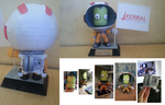 Kerbal Papercraft by arc5555