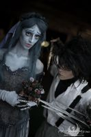 CORPSE BRIDE: Emily and Edward by Princess-ValeChan