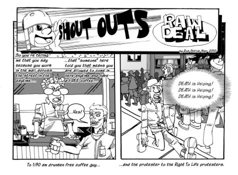 RobPetrie RawDeal Shout Outs 01 by JunketPO