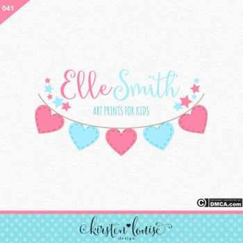 Bunting Logo Design by KirstenLouiseArt