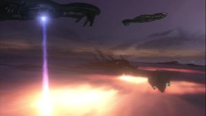 GLASSING THE PLANET IN HALO 3 by victortky