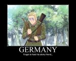 Germany Motivational Poster by axel31309