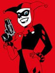 Harley Quinn (Batman Animated Style) by RobertoJOEL1307