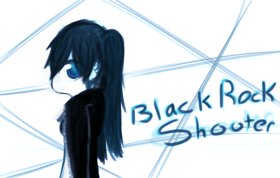 Black Rock Shooter by SgtBaconberry