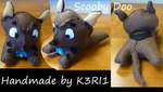 Scooby Doo Plush by K3RI1