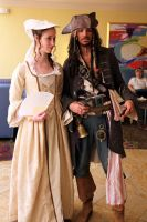 Pirates of the Caribbean Cosplayers by djzippy