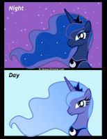 Day n Night by Mr-Samson