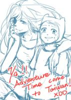 Adventure Time is coming by blsuki