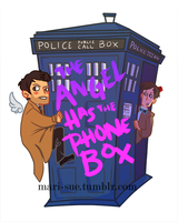 The Angel Has The Tardis by mari-sue