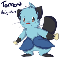 White 2 Team: Torrent the Dewott by Seiishin