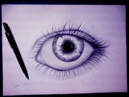 human eye by carldraw