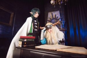 Makai Ouji: Devils and Realist cosplay by Grimmjou