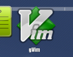 Vim dock icon by bobthecow