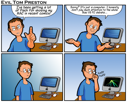 Evil Tom Preston - The Great Mac vs PC Debate by eviltomp