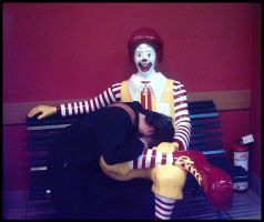 Ronald + Me by mataiodoxia