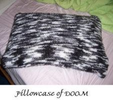 Pillowcase of DOOM by cyla-knits