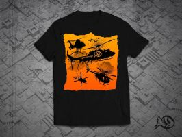 Black Helicopters by agentorangeclothing