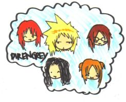 Dir en grey chibi spam 8D by Unichi