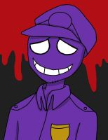 Purple Guy (Colored) by purplelover7