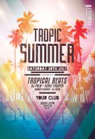 Tropic Summer Flyer by styleWish
