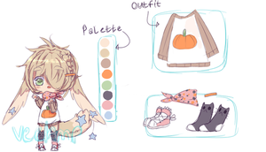 halloween adopt 2 - offer to adopt [CLOSED] by veelamp